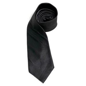 UMO LORENZO 100% Silk/Soie Silver Grey Neck Tie